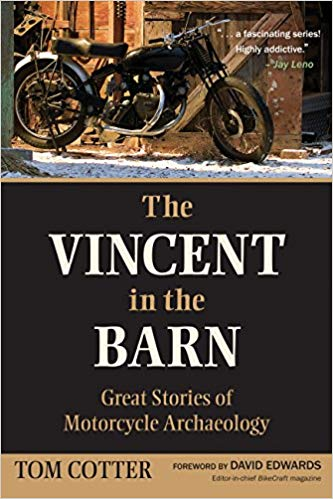 vincent in the barn book - The 10 Best Classic Motorcycle Books