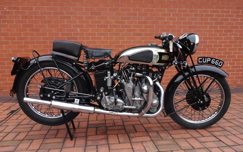 Q90 Vincent Rapide - British Motorcycle Quiz