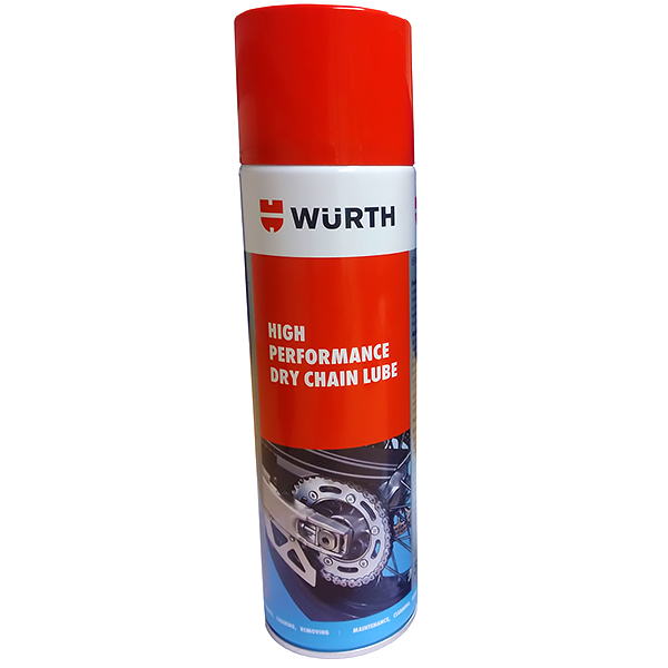 wurth motorcycle dry chain lube - The Best Motorcycle Chain Lube