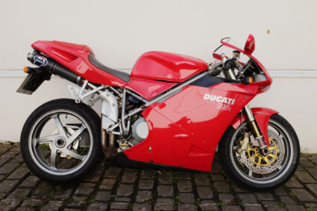 Ducati 998S eBay 458x305 - Selling a motorcycle for 99p with no reserve on eBay