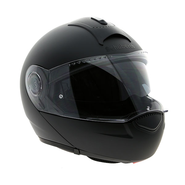 Schuberth C3 Basic Matt Black front quarter 223343 - The Best Budget Flip Up Motorcycle Helmets