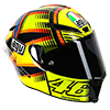agv Pista GP helmet - SHARP 5-star rated helmets