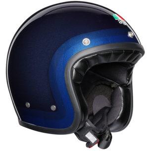 agv helmet legends x70 trofeo blue 305x305 - Best Open Face Motorcycle Helmet