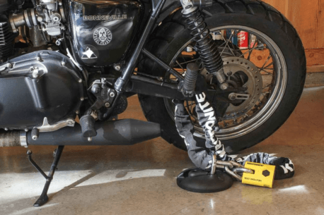 best motorcycle ground anchor 2019 458x305 - The Best Motorcycle Ground Anchors
