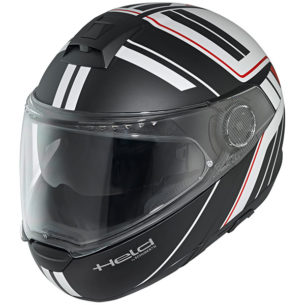 held helmet h c4 tour black white 305x305 - The Best Budget Flip Up Motorcycle Helmets