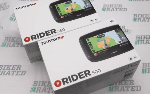 TomTom Rider 550 vs 500