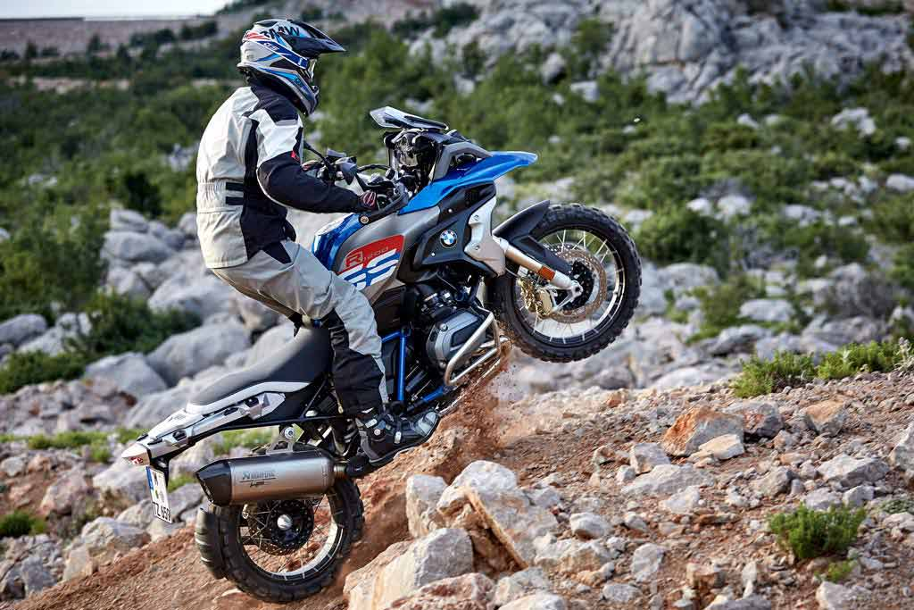 BMW R1200GS Rallye offroad motorcycle boots - The Best Adventure Motorcycle Boots