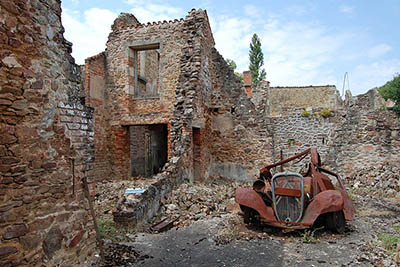 Oradour sur Glane France Motorbike - Motorcycle Touring Guide to France