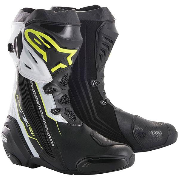 best motorcycle boots alpinestars supertech r boots - The Best Motorcycle Racing Boots