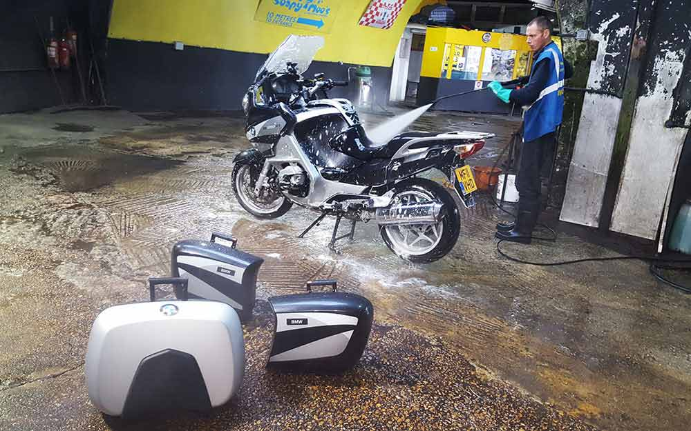 car jetwash motorcycle - Easy Motorcycle Cleaning and Polishing Guide