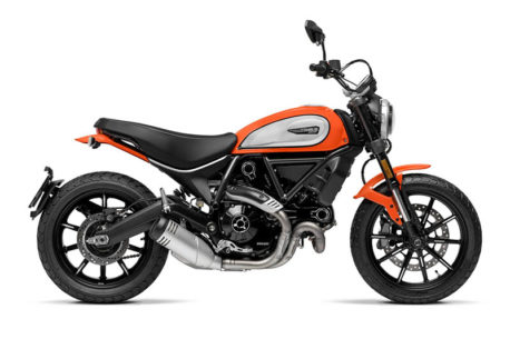 ducati scrambler icon a2 motorcycle 458x305 - The Best Motorbikes under £5000