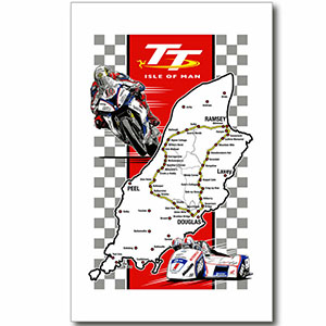 isle of man tt tea towel - The Best Gifts for Bikers