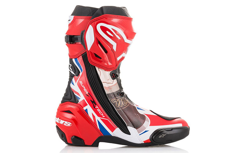 mcguinness supertech motorcycle boot customised - The Best Motorcycle Racing Boots