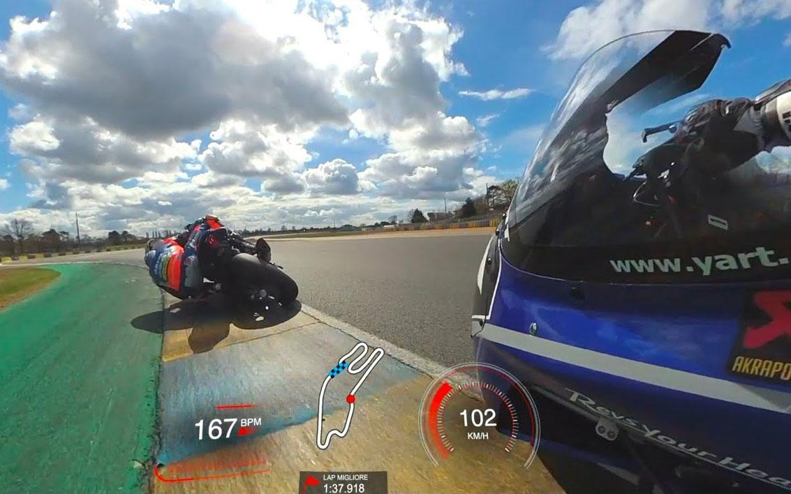 motorcycle action camera 1 - The Best Motorcycle Helmet Cameras