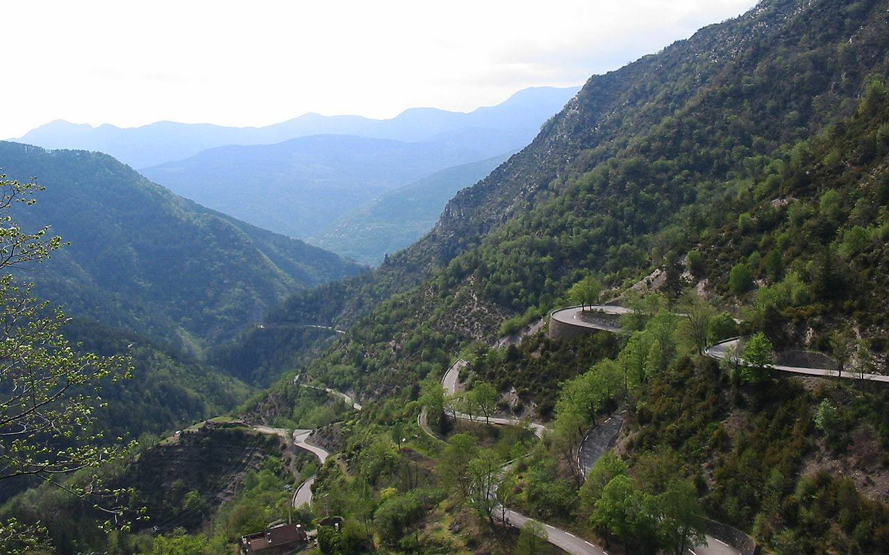 motorcycle guide to france touring col de turini - Motorcycle Touring Guide to France