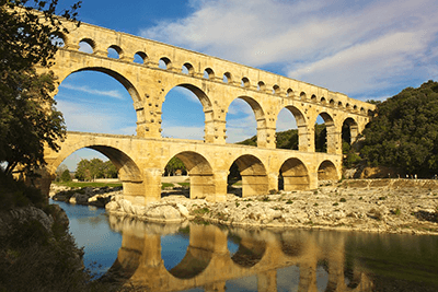 pont du gard - Motorcycle Touring Guide to France