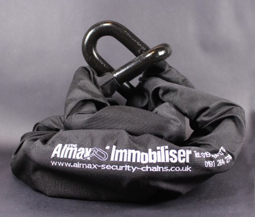 Almax 22mm Series V security chain - The Thickest Motorcycle Security Chains