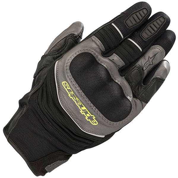 alpinestars crosser air touring mixed gloves adventure motorcycle - The Best Adventure Motorcycle Gloves