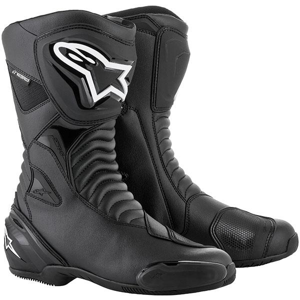 alpinestars boots smx s waterproof motorcycle boots - The Best Waterproof Motorcycle Boots
