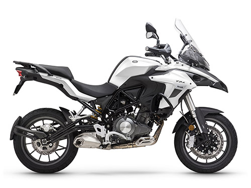 benelli trk502 low seat motorcycle - Adventure Bikes for Short Riders