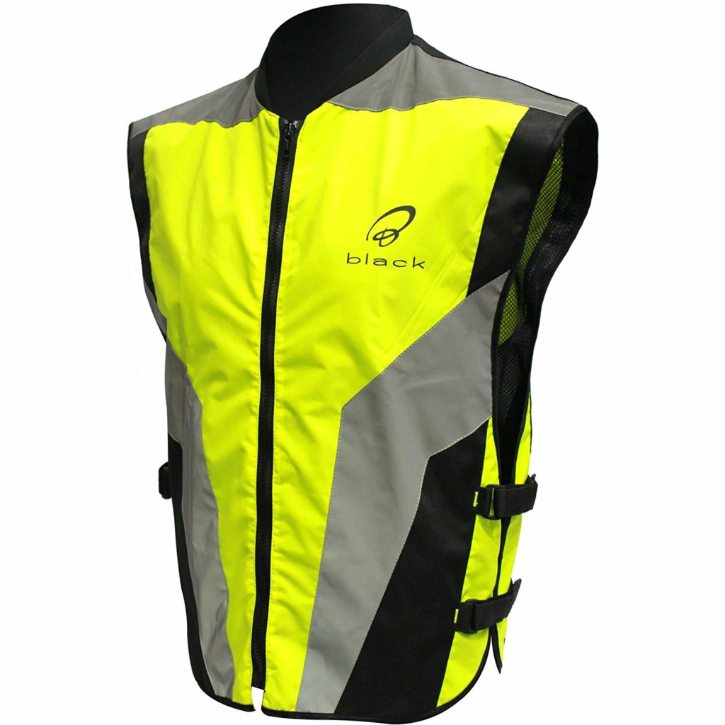 black hi viz motoryccle jacket 1024x1024 - The Best Motorcycle Hi Viz Vests