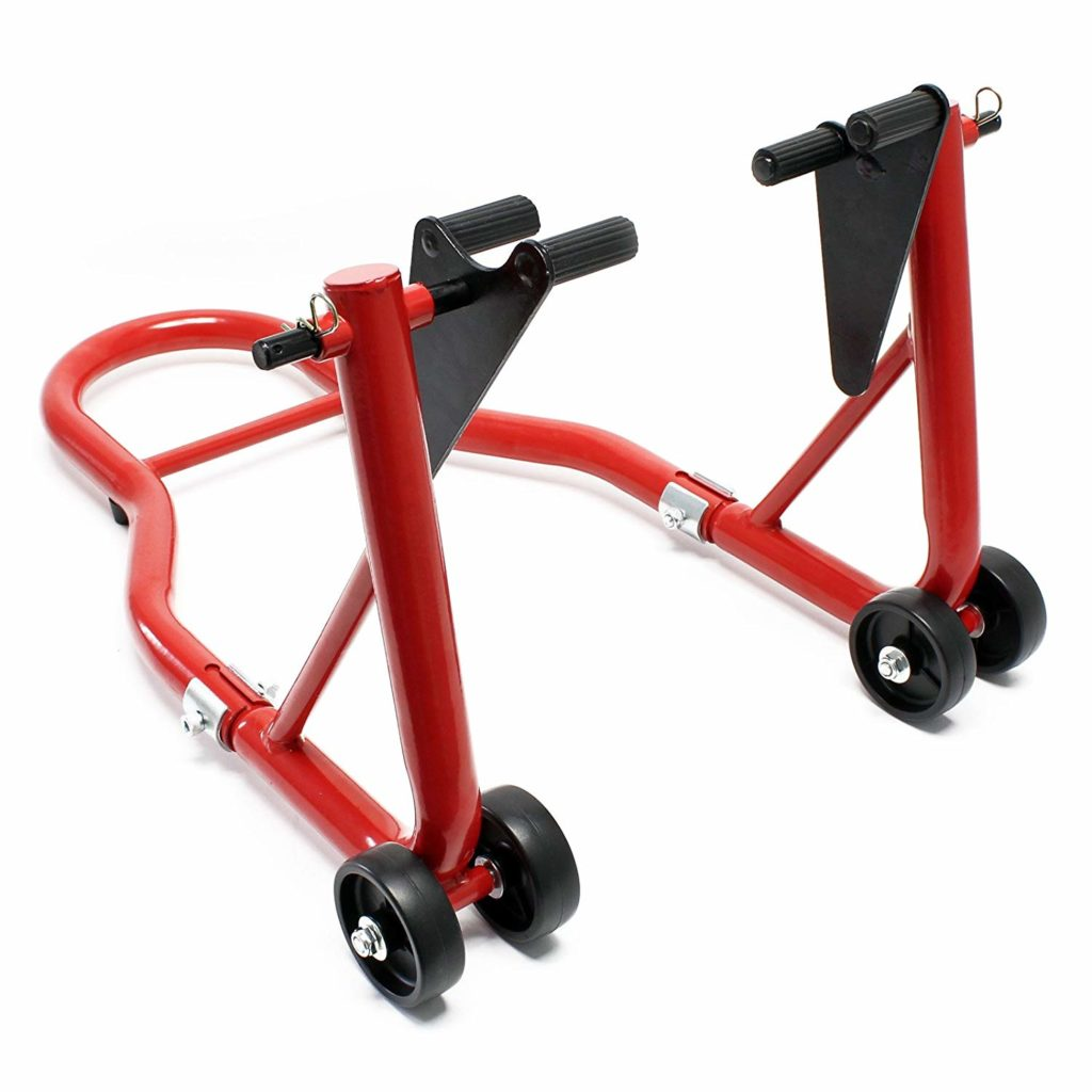 cheap motorcycle wheel stand front 1024x1024 - The Best Paddock Stands