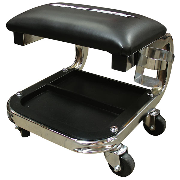 comfortable workshop seat wheels - The Best Garage Creeper Seats