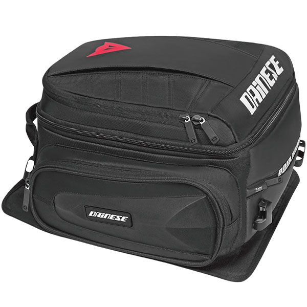 dainese d tail bag stealth black - The Best Motorcycle Tail Pack