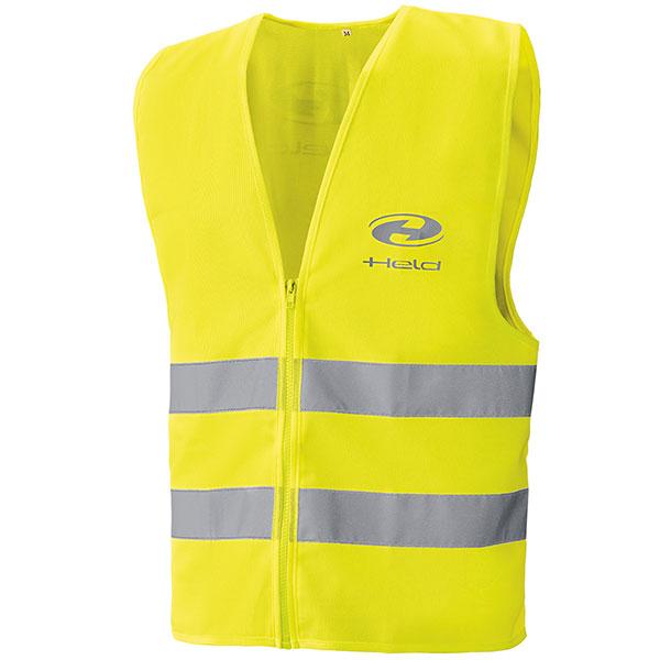 held hi viz safety vest fluo yellow motorcycle - The Best Motorcycle Hi Viz Vests