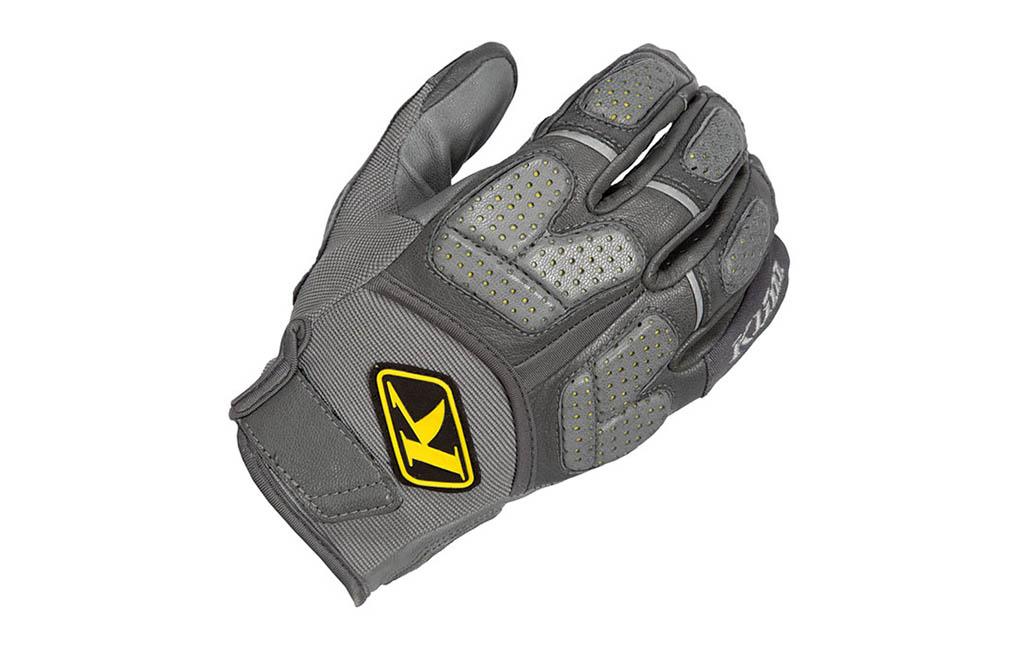 klim gloves dakar pro grey - The Best Adventure Motorcycle Gloves