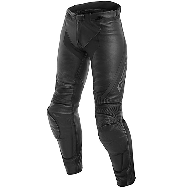 ladies leather motorbike trousers dainese assen black anthracite - The Best Leather Motorcycle Trousers