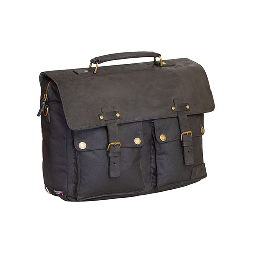 merlin luggage textile cheadle black messenger bag - The Best Motorcycle Messenger Bags