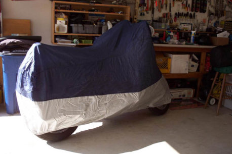 motorcycle cover indoors best 458x305 - The Best Indoor Motorcycle Covers