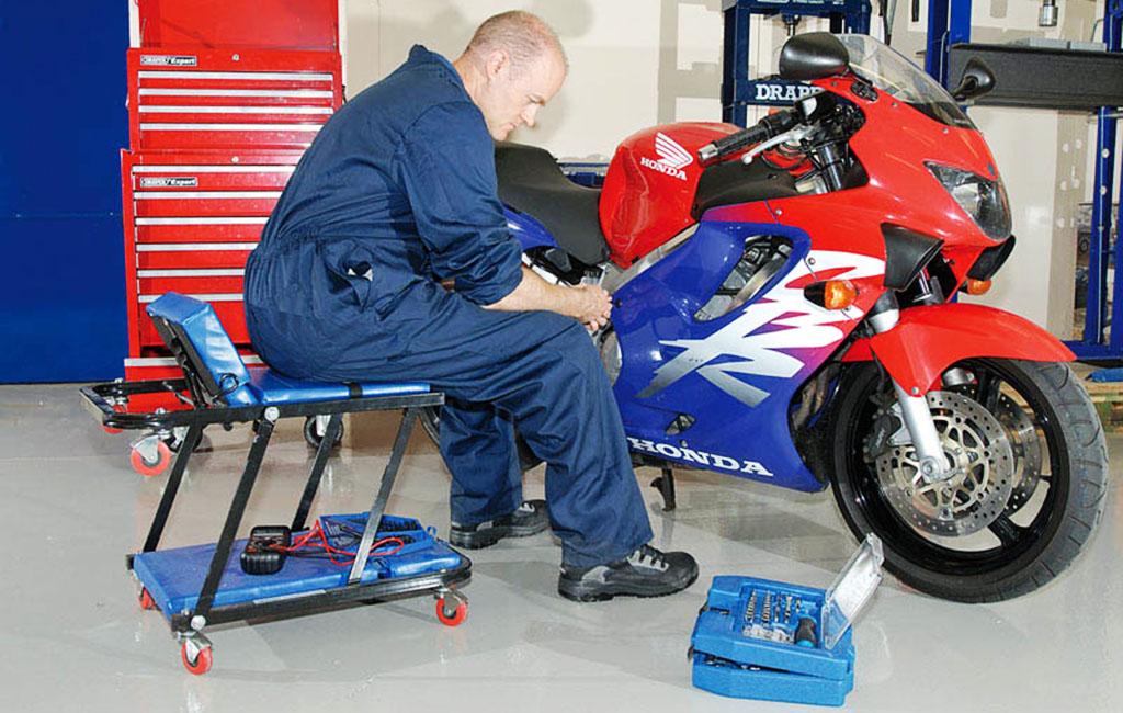 motorcycle creeper seat garage workshop - The Best Garage Creeper Seats
