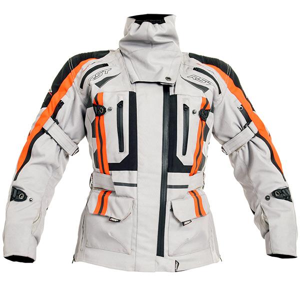 rst paragon 5 textile jacket silver adventure bike jacket - The Best Adventure Motorcycle Jackets