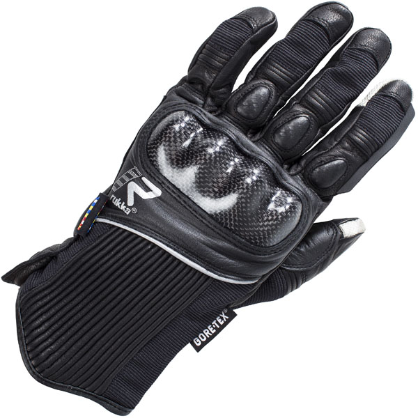 rukka glove ceres black short gore tex glove - The Best Short Motorcycle Gloves