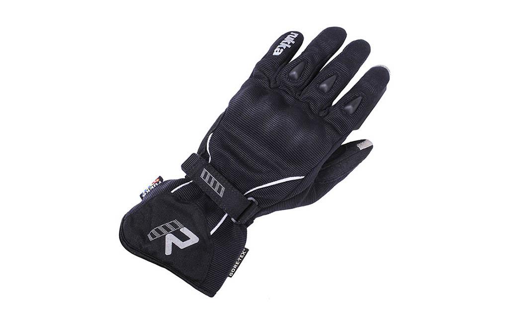 rukka virium gloves black waterproof motorcycle glove - The Best Waterproof Motorcycle Gloves
