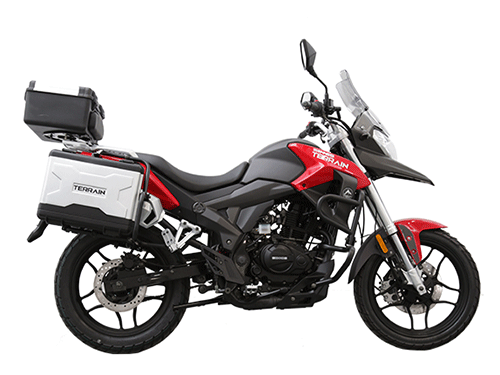 sinnis 125 terrain short riders - Adventure Bikes for Short Riders