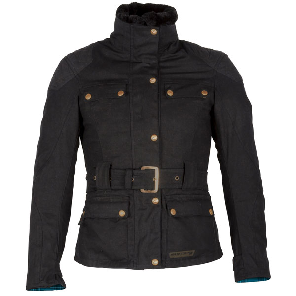 spada ladies jacket textile hartbury black - Wax Cotton Motorcycle Jackets for Every Budget