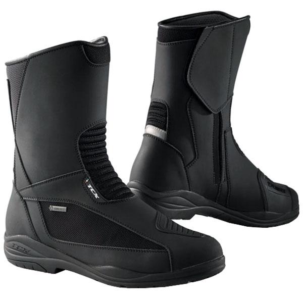 tcx explorer evo gore tex boots dark grey waterproof touring boots - The Best Waterproof Motorcycle Boots