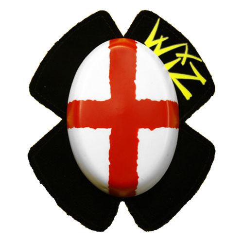 wiz english flag knee slider - The Best Motorcycle Knee Sliders