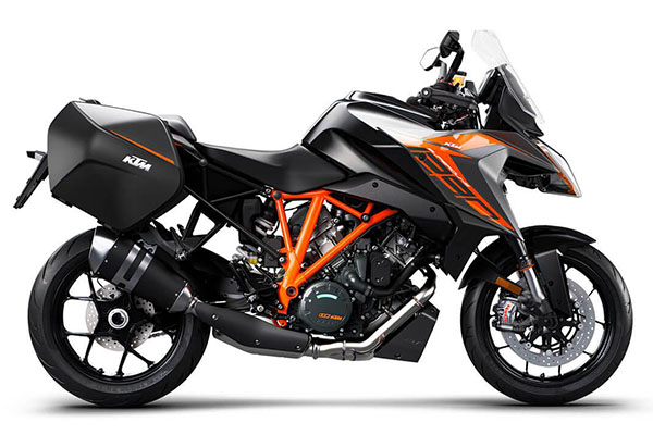 2019 KTM 1290 SUPER DUKE GT WHITE - The Best Sports Tourers