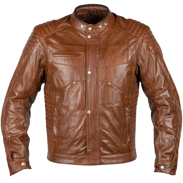 dxr ruff leather jacket brown leather motorcycle jacket - Retro Motorcycle Jackets for Every Budget