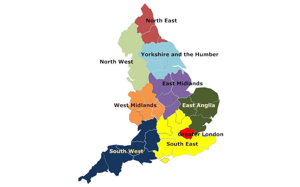 england regions motorcycle crime uk 1024x640 - UK Motorcycle Theft Hotspots Revealed
