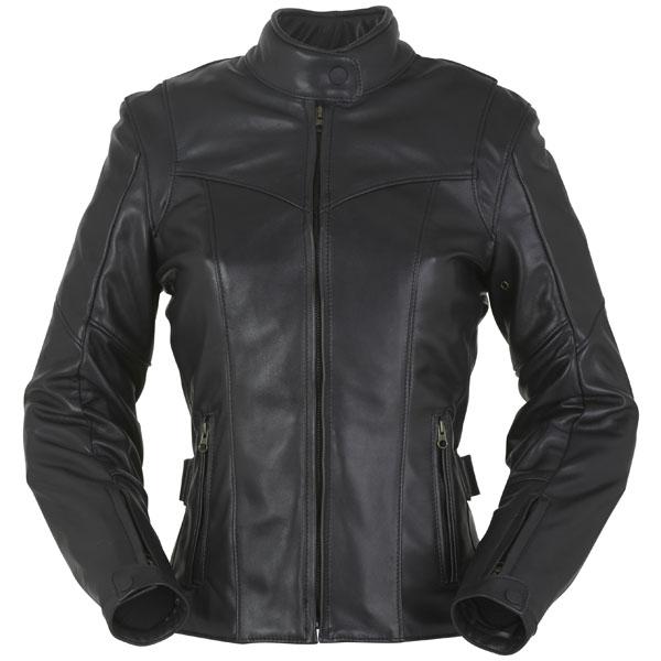 furygan ladies biker jacket leather bella black - Retro Motorcycle Jackets for Every Budget