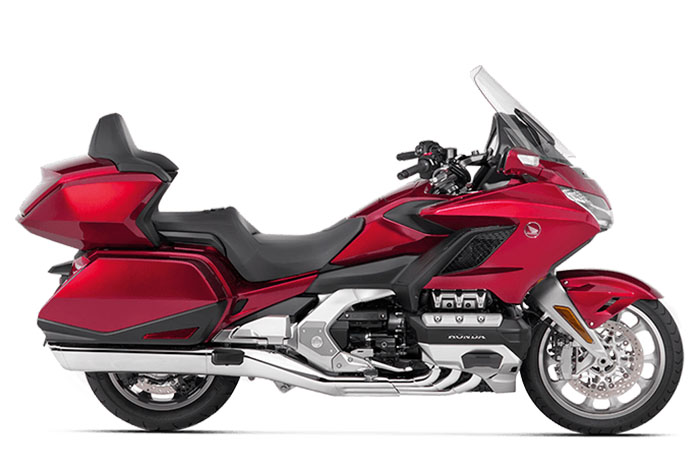 honda gold wing candy ardent red tour automatic - The Best Automatic Motorbikes