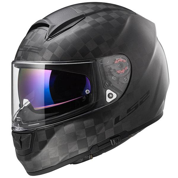 ls2 helmets vector carbon fibre solid matt - The Best Carbon Fibre Motorcycle Helmets