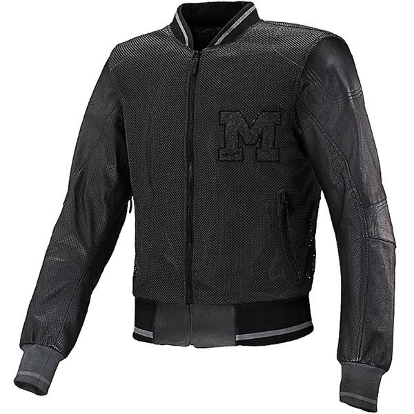 macna college air mixed jacket black mesh motorcycle jacket - Mesh Motorcycle Jackets Showcase
