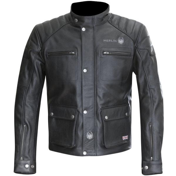 merlin leather jacket keele black motorbike - Retro Motorcycle Jackets for Every Budget
