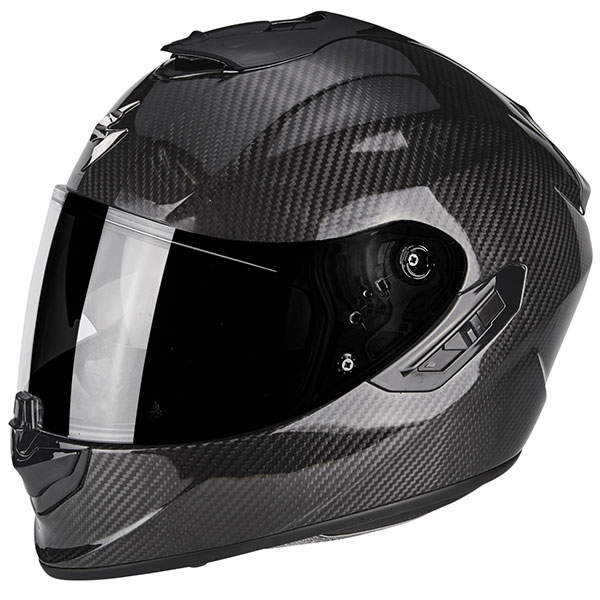 scorpion exo helmet exo 1400 carbon fibre air black - The Lightest Motorcycle Helmets